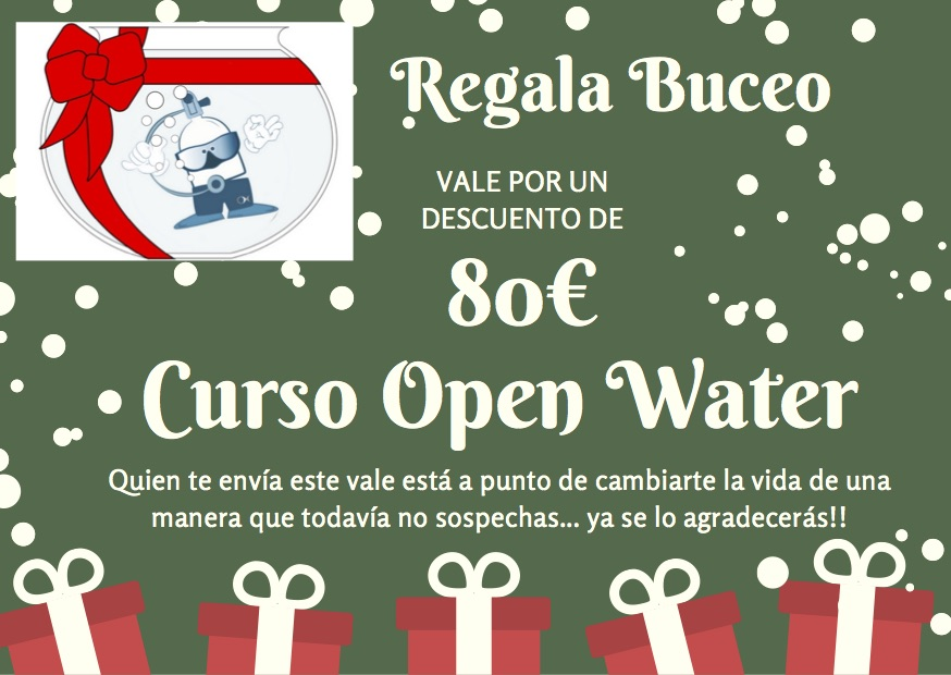 Regala curso open water