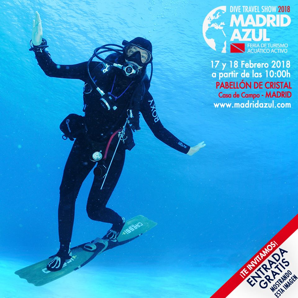 Invitación Dive Travel Show 2018