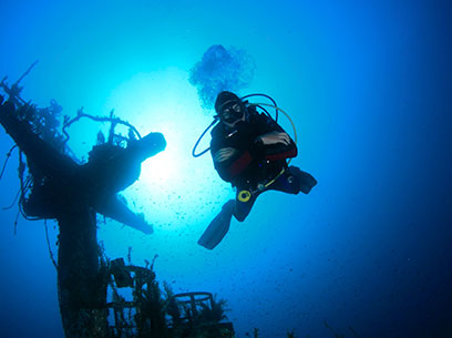 curso de buceo advanced diver en Madrid