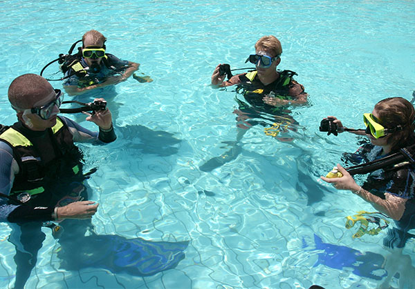 escuela y club de buceo en Madrid
